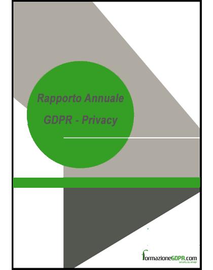 rapporto e contratti annuali GPDR